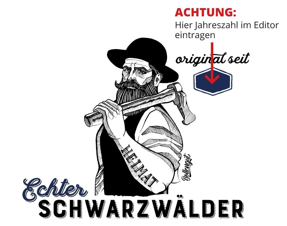 """Echter Schwarzwaldbub """"Michel"""" seit 19XX"""