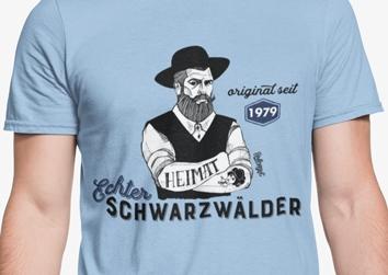 "Echter Schwarzwälder ""Hippolyt"" seit 19XX"