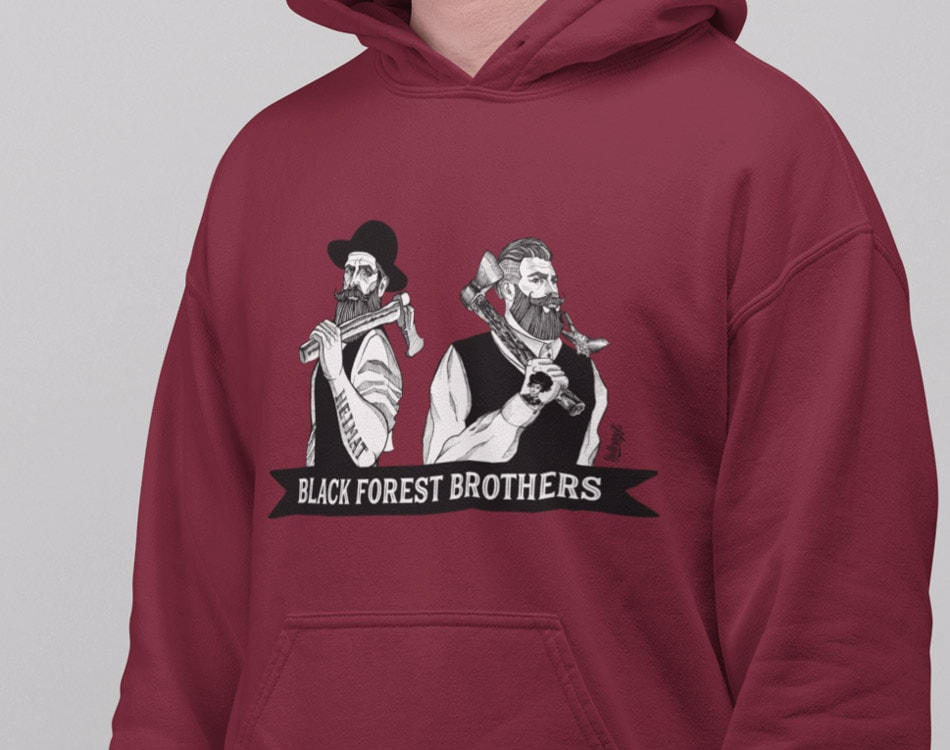 Bollengut_Mockup_Hoodie_Black_Forest_Brothers_Michel_Korbian