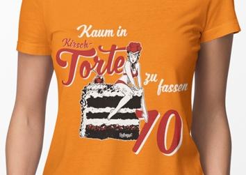 """""""Kirsti"""" Kaum in Kirschtorte zu fassen 70"""