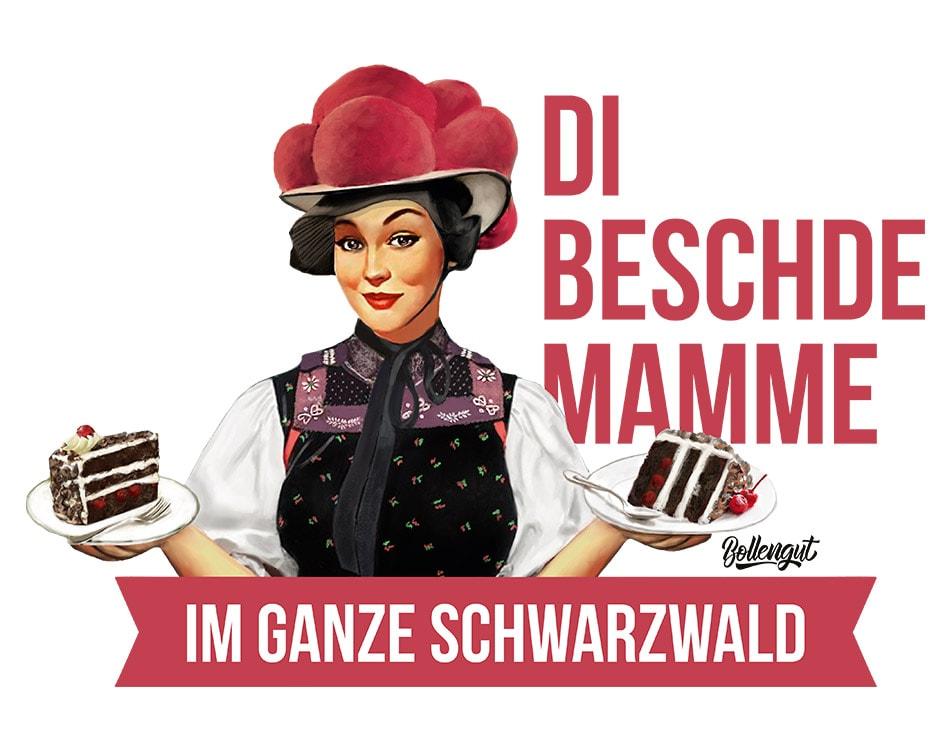 """Schwarzwaldmädel """"Anna"""" Beschde Mamme"""