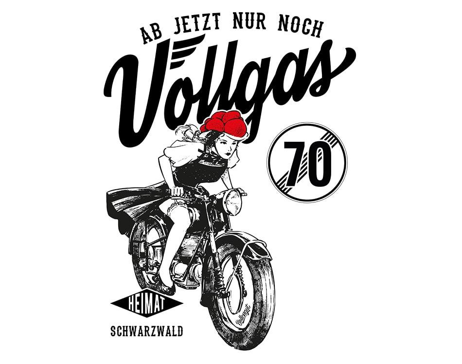 """Schwarzwaldmädel """"Linda"""" Vollgas 70"""