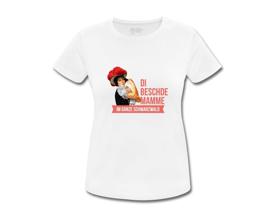 Bollengut_T-Shirt_Beschde_Mamme_Weiss