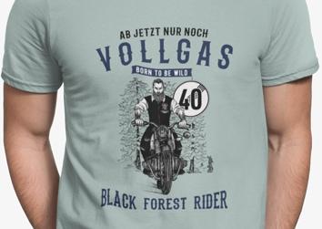 """Schwarzwälder """"Vincent"""" Vollgas 40"""