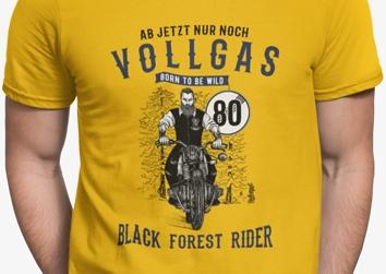 """Schwarzwälder """"Vincent"""" Vollgas 80"""