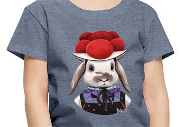 """Kaninchen """"Karla"""" mit Bollenhut"""