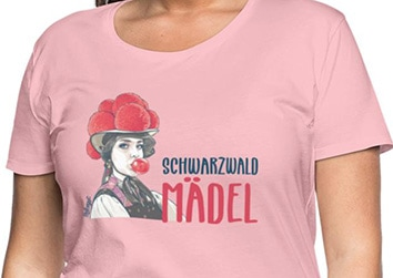 "Schwarzwaldmädel ""Emma"" mit Kaugummi"