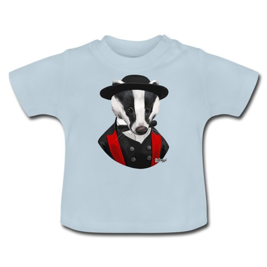 Bollengut_Dachs_Dieter_in_Tracht_Baby_T-Shirt