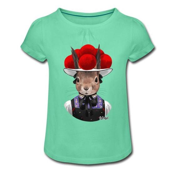 Bollengut_Eichhoernchen_Erika_mit_Bollenhut_Kinder_T-Shirt
